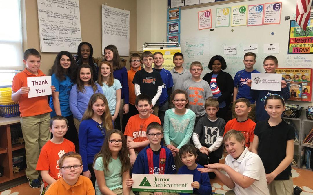 Case Avenue 5th Graders Learn Job Readiness and Entrepreneurship