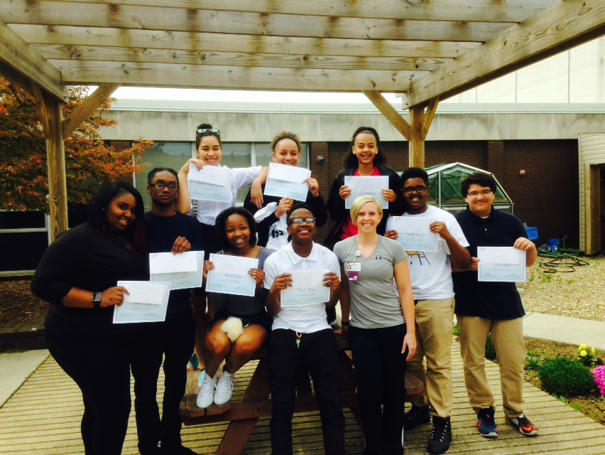 Healthy Habits Trainers Graduate from Program!